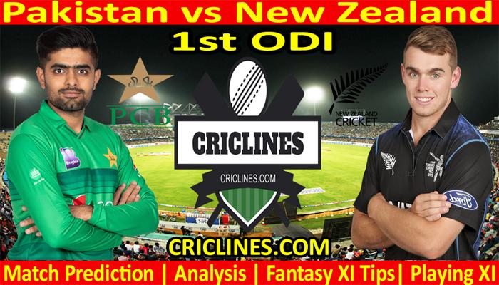 Today Match Prediction-Pakistan vs New Zealand-1st ODI-Who Will Win