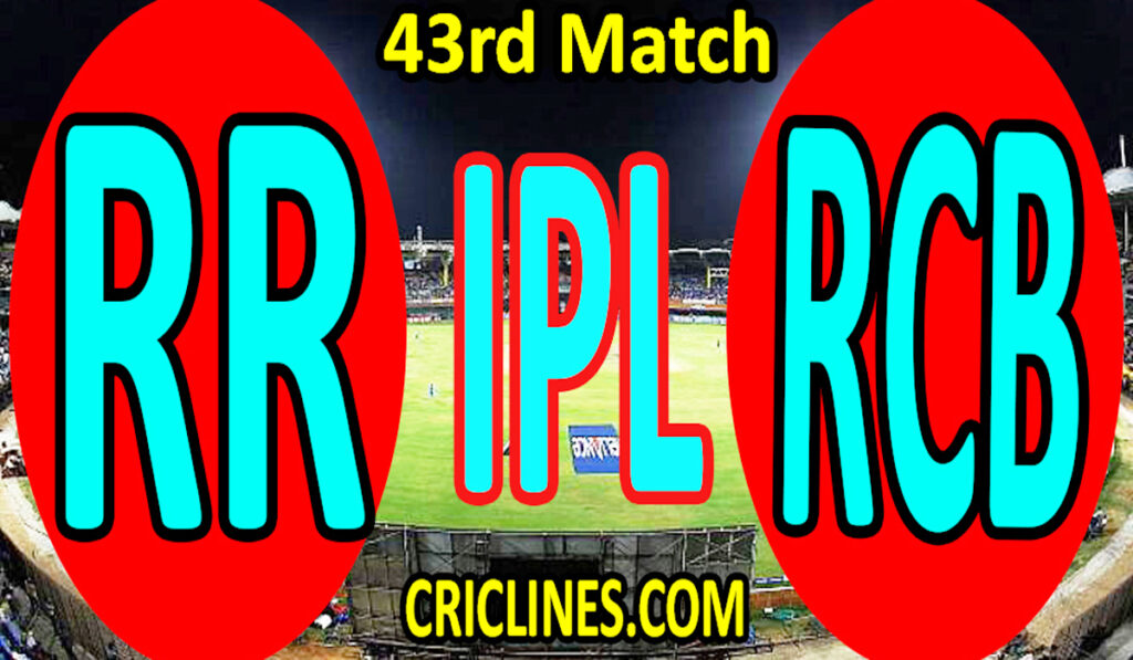 Today Match Prediction-Rajasthan Royals vs Royal Challengers Bangalore-IPL T20 2021-43rd Match-Who Will Win