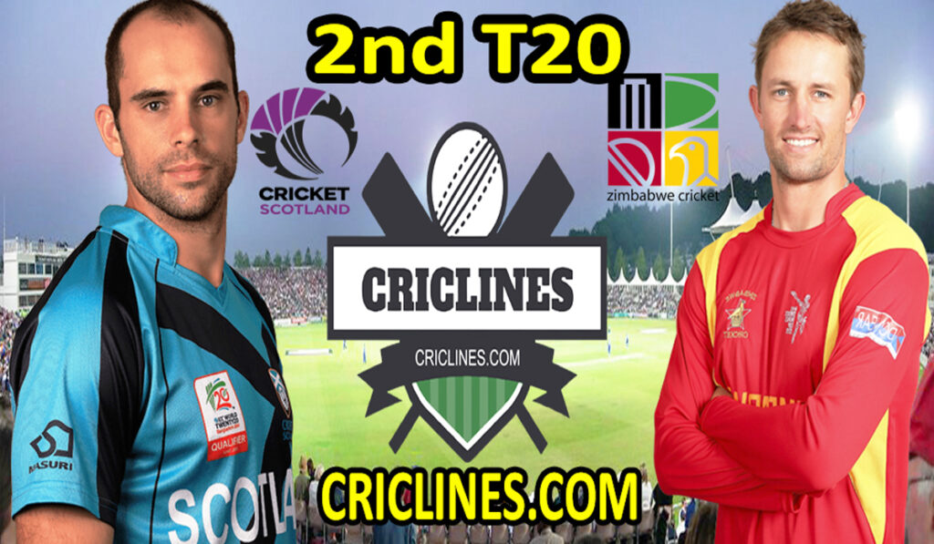 Today Match Prediction-SCO vs ZIM-2nd T20-2021-Who Will Win