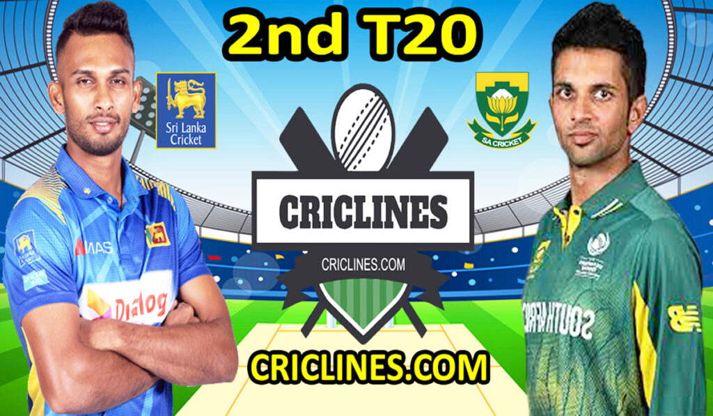Today Match Prediction-SL vs RSA-2nd T20-Who Will Win Today