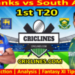 Today Match Prediction-Sri Lanka vs South Africa-1st T20-Who Will Win Today