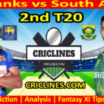 Today Match Prediction-Sri Lanka vs South Africa-2nd T20-Who Will Win Today