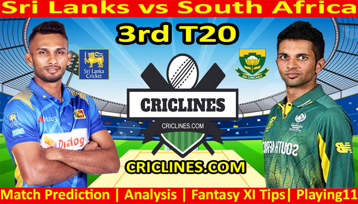 Today Match Prediction-Sri Lanka vs South Africa-3rd T20-Who Will Win Today