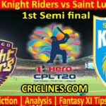 Today Match Prediction-TKR vs SLK-CPL T20 2021-1st Semi final-Who Will Win