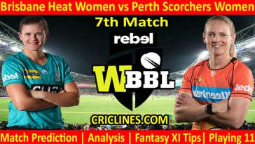 Today Match Prediction-BHW vs PSW-WBBL T20 2021-7th Match-Who Will Win