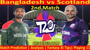 Today Match Prediction-Bangladesh vs Scotland-WTC 21-2nd Match-Who Will Win