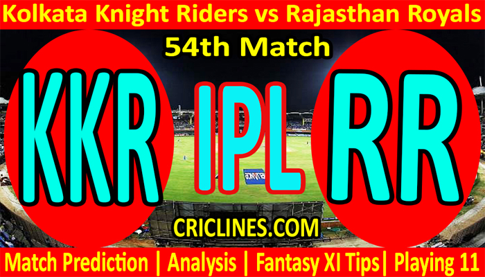 Today Match Prediction-KKR vs RR-IPL T20 2021-54th Match-Who Will Win
