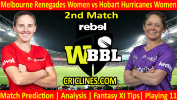 Today Match Prediction-MRW vs HHW-WBBL T20 2021-2nd Match-Who Will Win