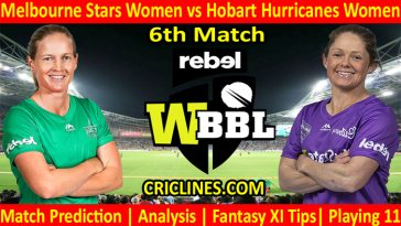 Today Match Prediction-MSW vs HHW-WBBL T20 2021-6th Match-Who Will Win