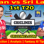 Today Match Prediction-OMN vs SL-1st T20-Who Will Win Today