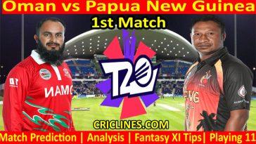 Today Match Prediction-Oman vs Papua New Guinea-WTC 21-1st Match-Who Will Win