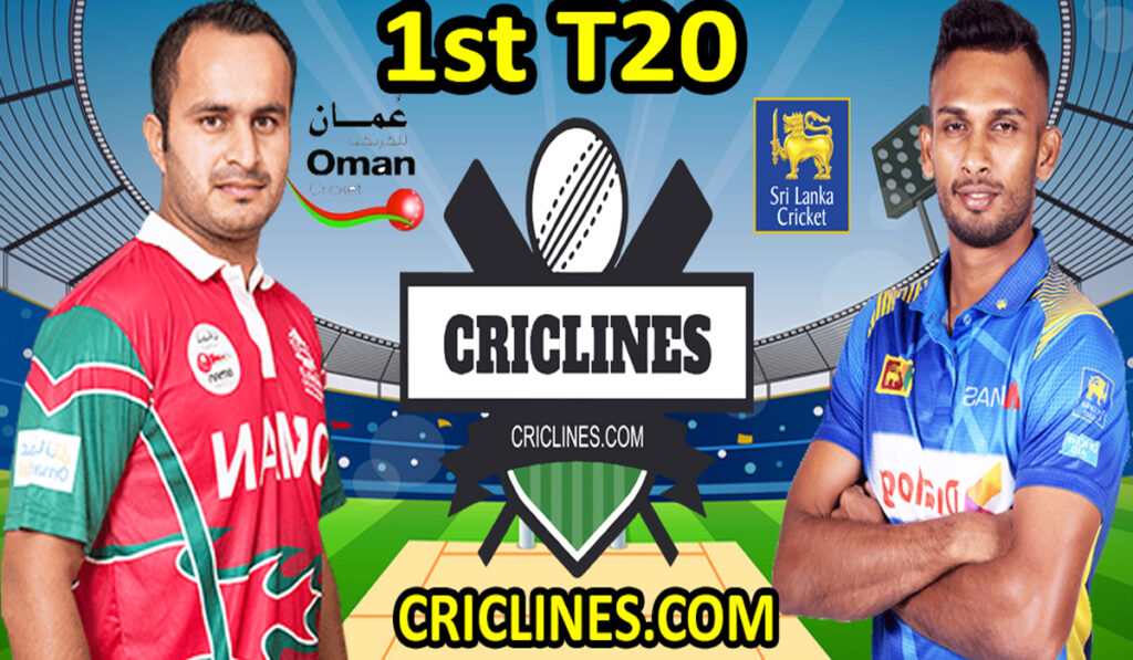 Today Match Prediction-Oman vs Sri Lanka-1st T20-Who Will Win Today