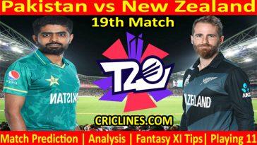 Today Match Prediction-PAK vs NZ-WTC 21-19th Match-Who Will Win