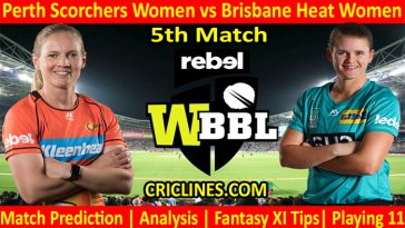 Today Match Prediction-PSW vs BHW-WBBL T20 2021-5th Match-Who Will Win