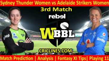Today Match Prediction-STW vs ADW-WBBL T20 2021-3rd Match-Who Will Win
