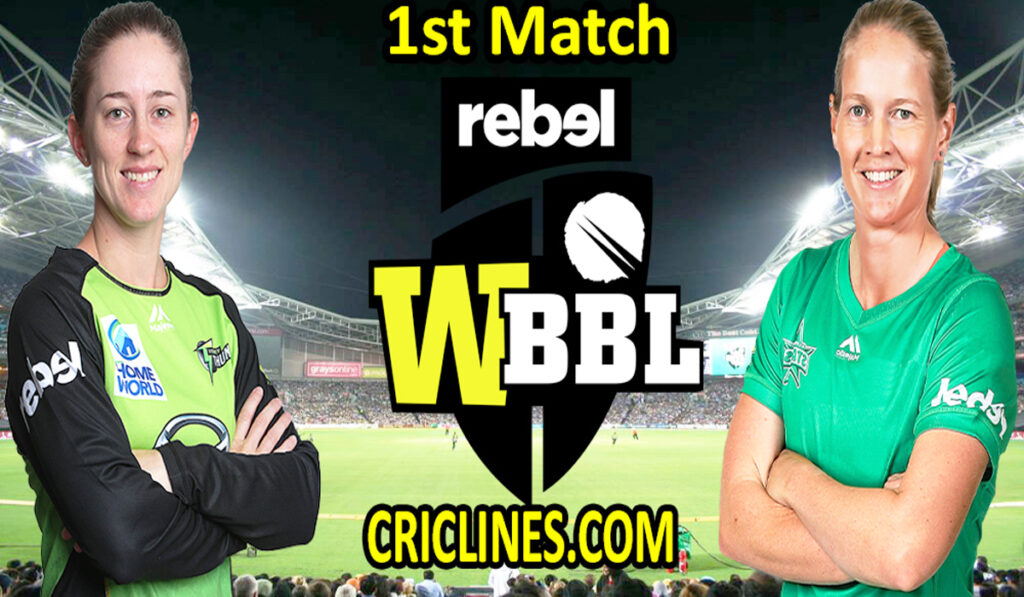 Today Match Prediction-Sydney Sixers Women vs Melbourne Stars Women-WBBL T20 2021-1st Match-Who Will Win